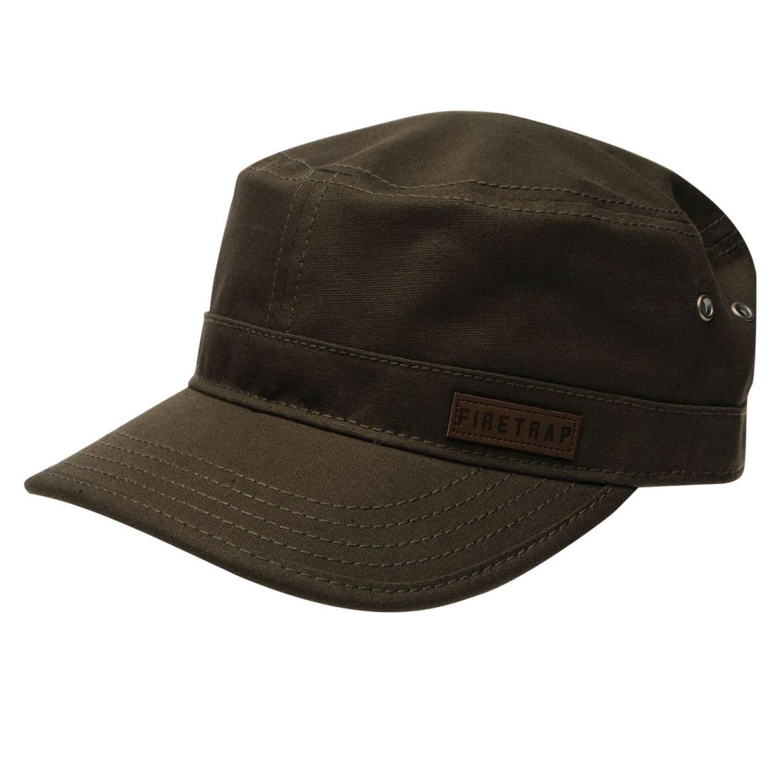 608c89c4 FIRETRAP MENS ARMY Hat Cap Cotton - £6.00 | PicClick UK