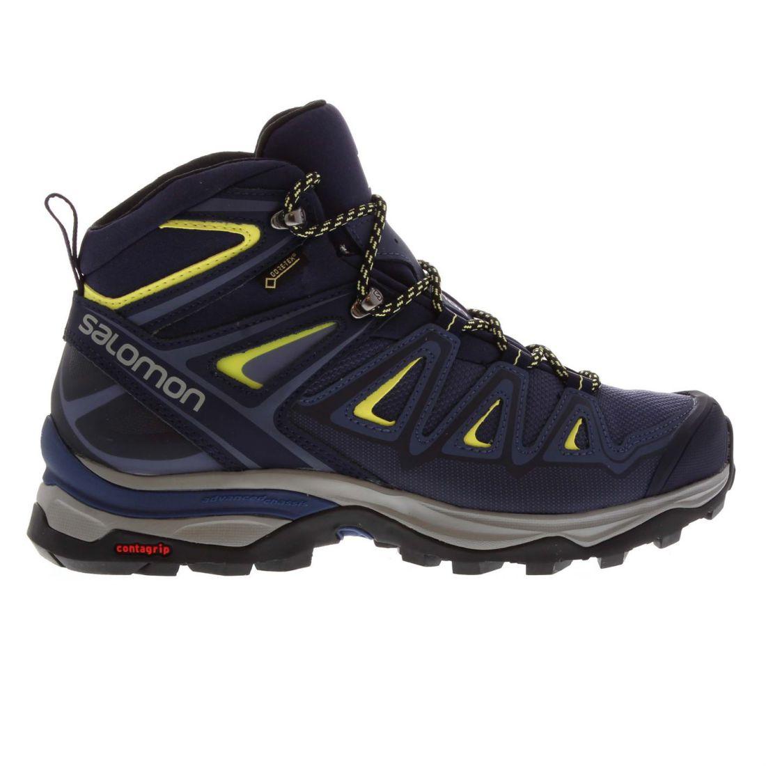 Dettagli su Salomon XULTRA 3 M GTX Scarpe walking donna stivali lacci con chiusura a imbottito alla caviglia mostra il titolo originale