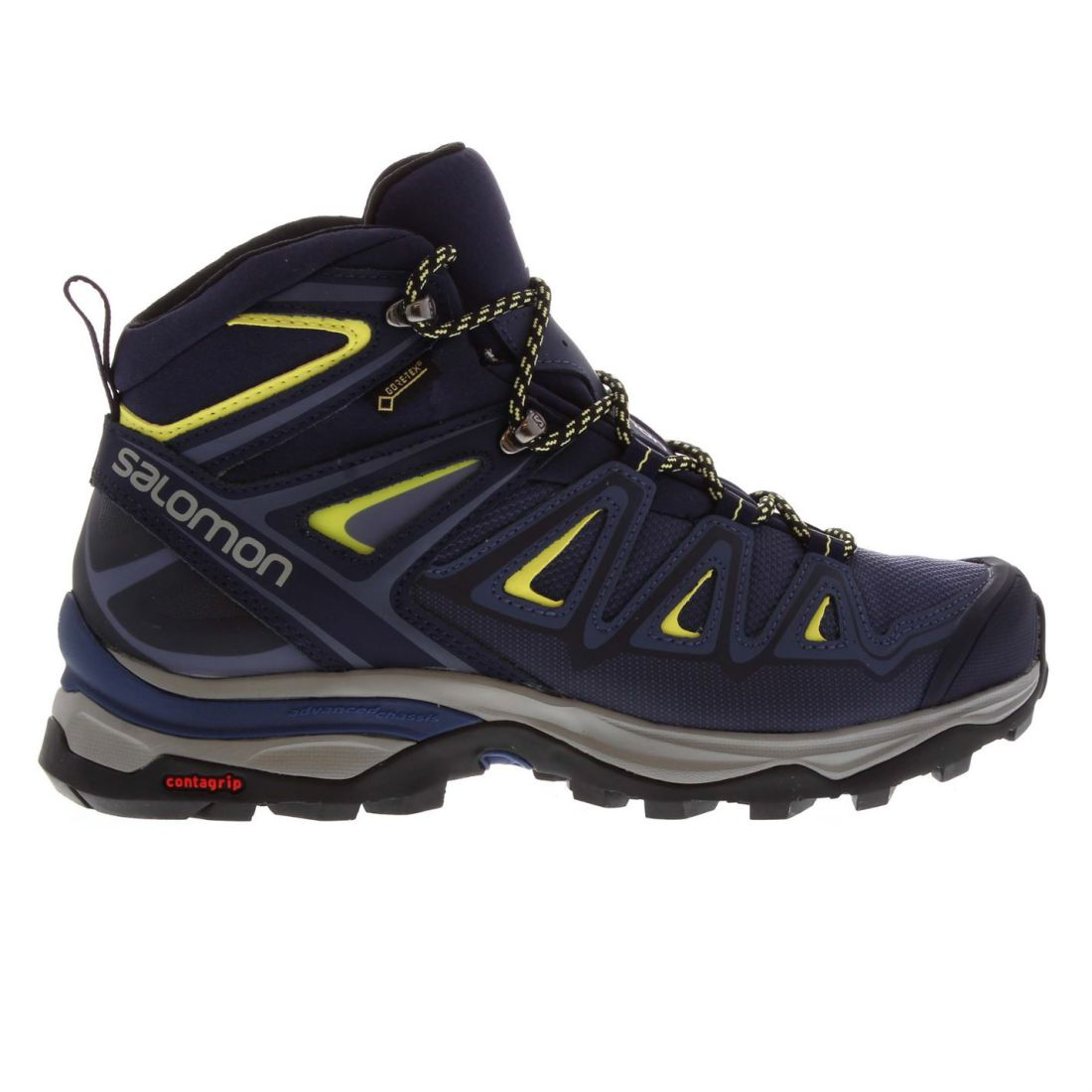 Salomon XUltra 3 M GTX Walking zapatos Ladies botas Laces Fastened Padded Ankle