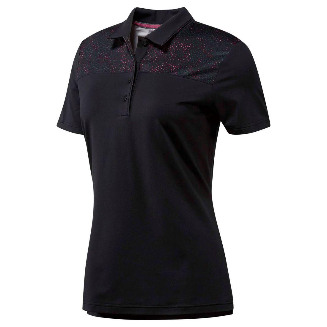 Adidas Ulti Fsh Polo Ladies Short Sleeve Performance Shirt Tee Top