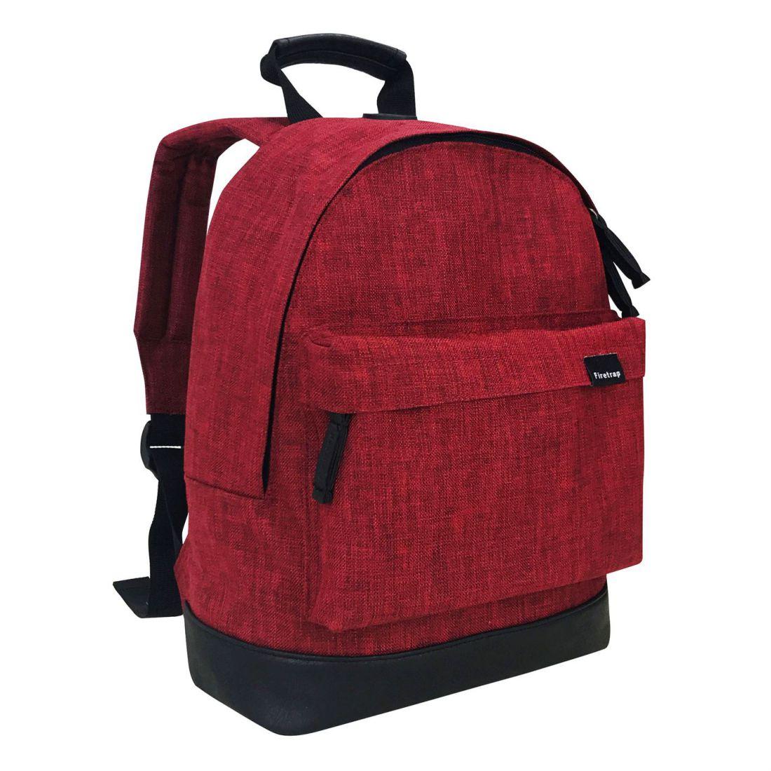 Firetrap Mini Backpack Rucksack Sports Casual Travel Luggage Accessory