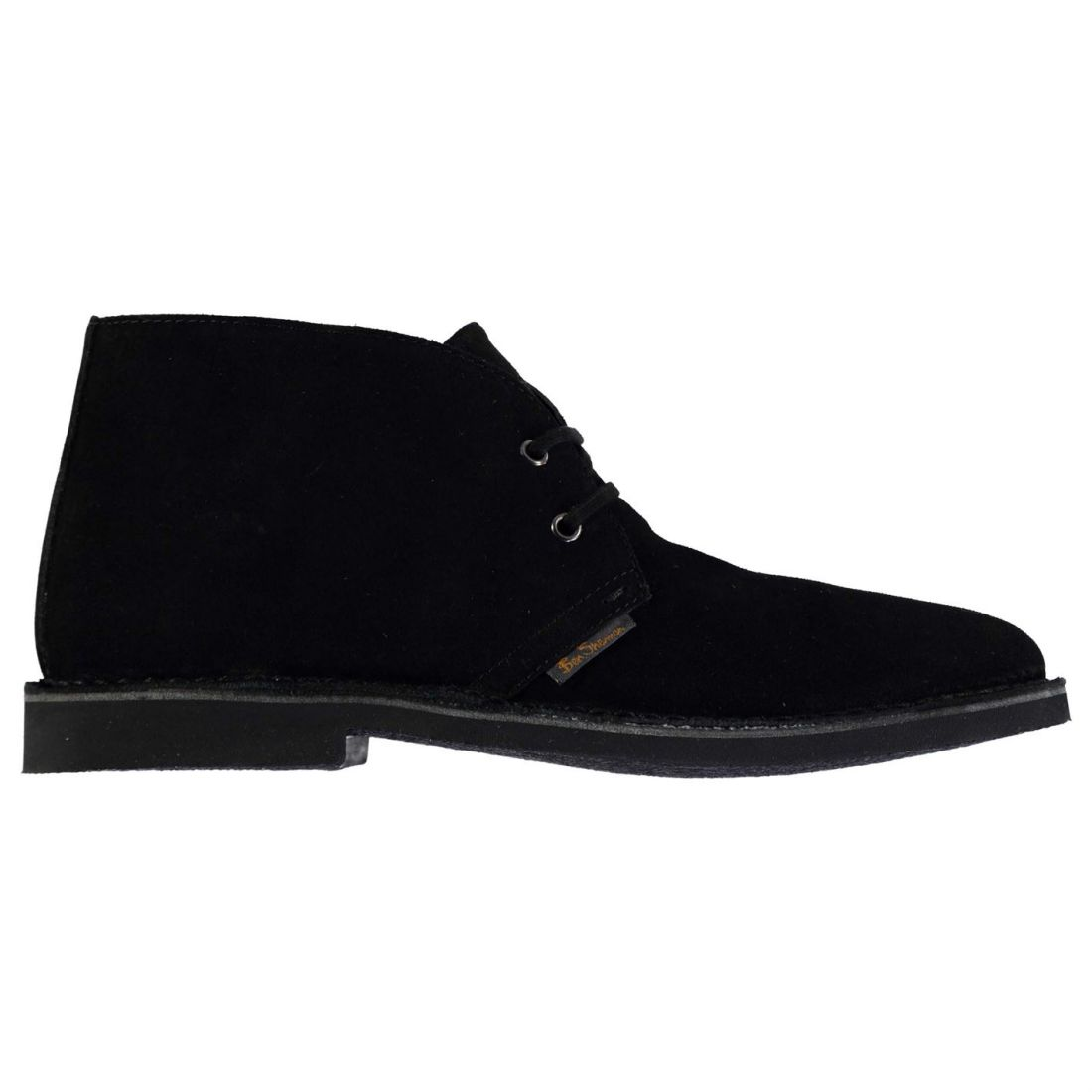 Ben Sherman Mens Gents Hunt Desert Boots Laces Fastened Leather shoes Footwear