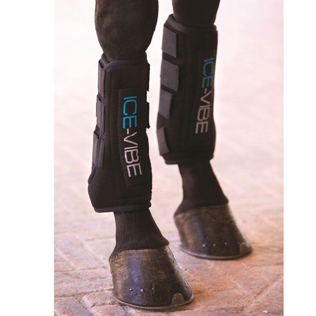 Horseware Ice Vibe Unisex avvio CAVALLO Legwear Stretch Elastico Ovale