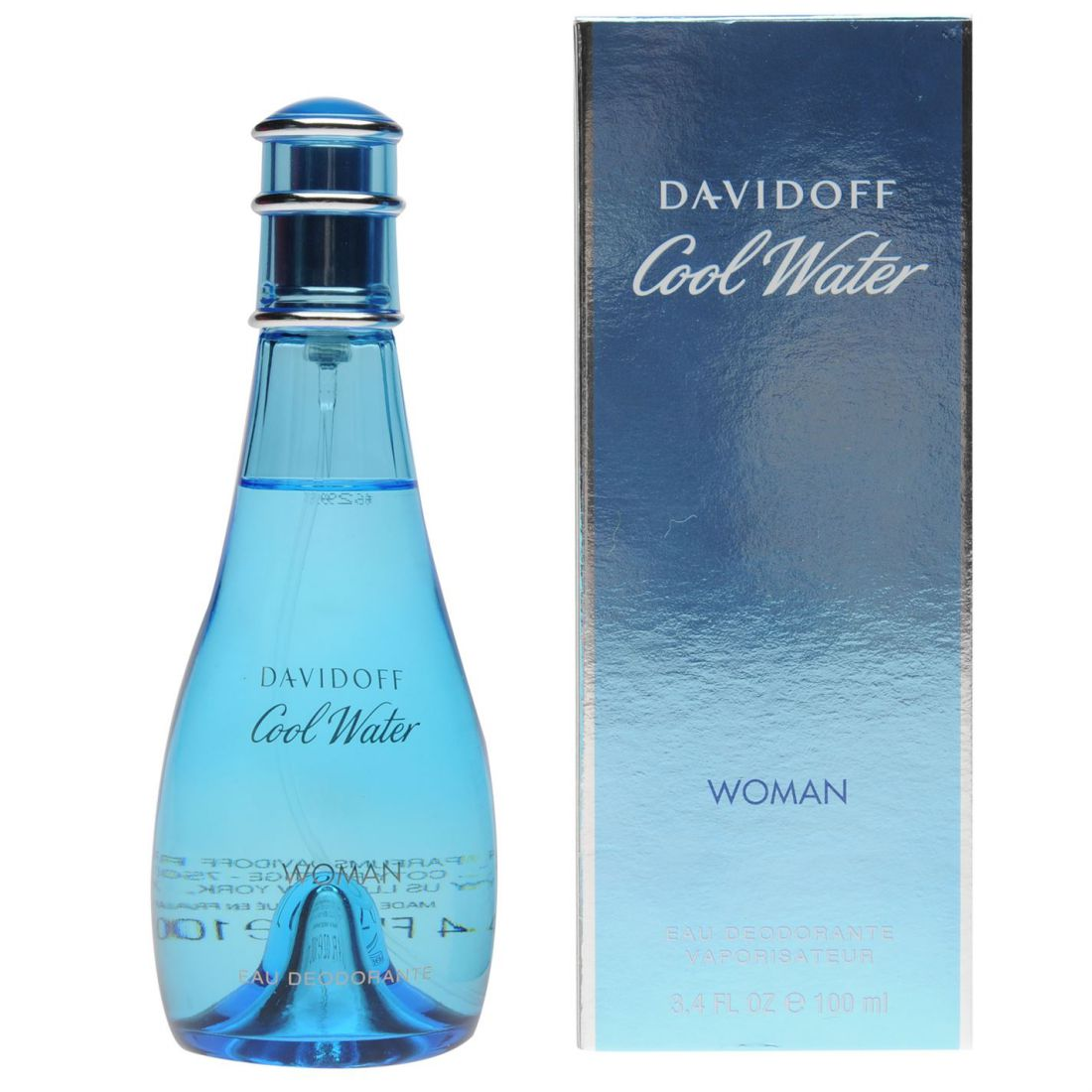 2920eaf6a3 Davidoff Womens Cool Water Deodorant Spray 100ml for sale online   eBay