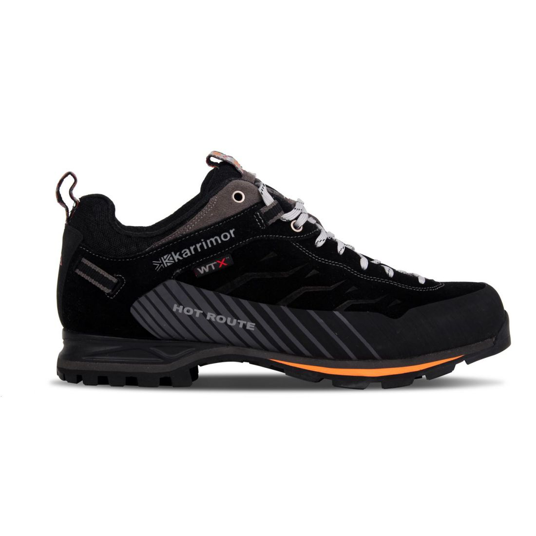 Karrimor Mens Hot Route WTX Walking schuhe Waterproof Lace Up Breathable Leather