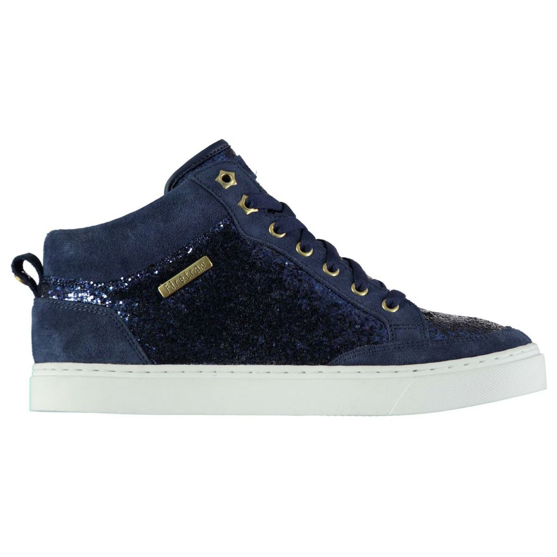 Firetrap Laces Joy Ladies Fastened Padded Hi Sneakers Top High hrdstQ
