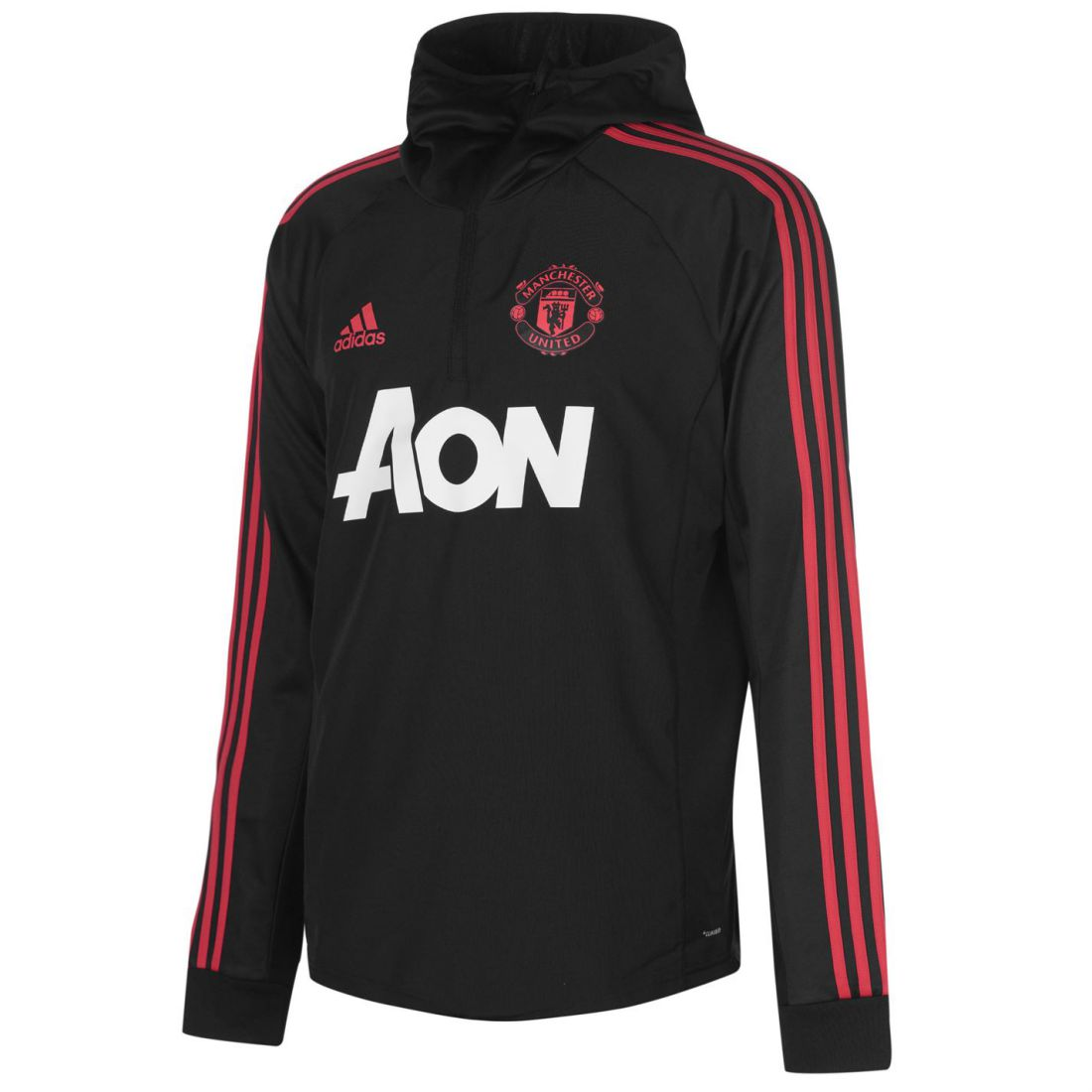 Adidas Mens Manchester United Warm Up Top 2018 19 Licensed Performance Crew
