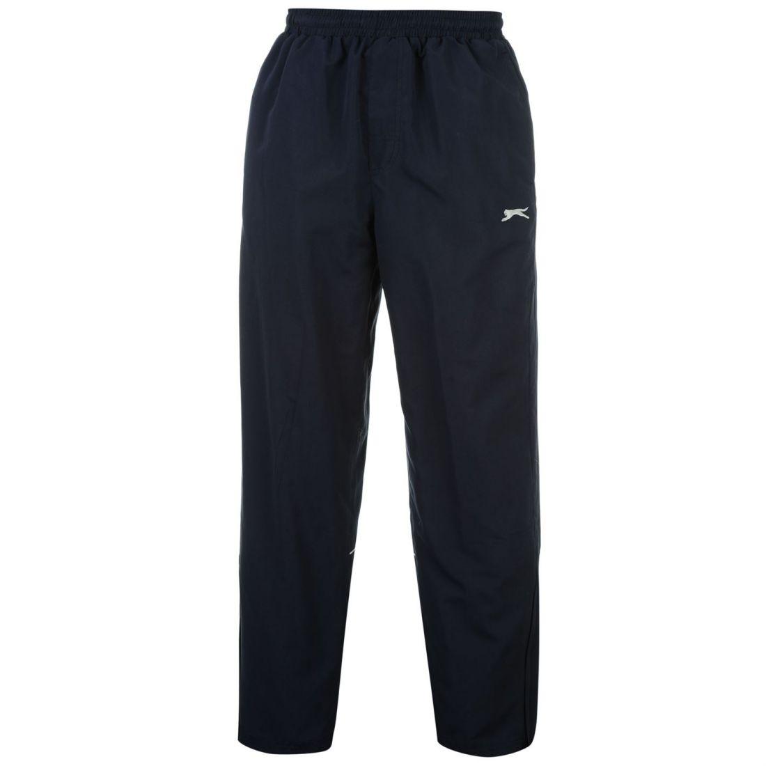 1f51136b804a Slazenger Mens Open Hem Woven Sweatpants Jogging Bottoms Joggers Sport Pants