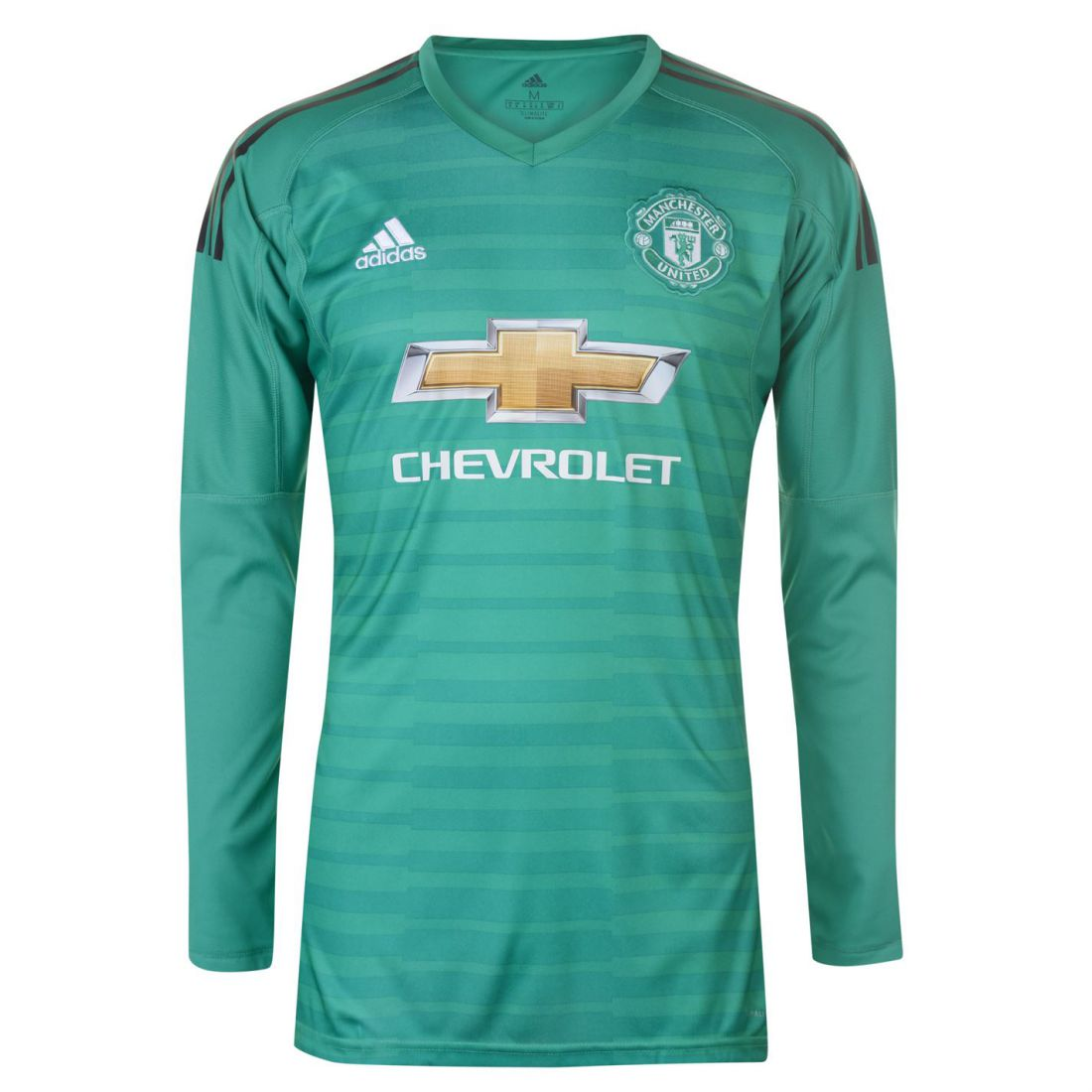 c0008c843 Adidas Manchester United Home Goalkeeper Shirt 2018 2019 Mens Gents Domestic