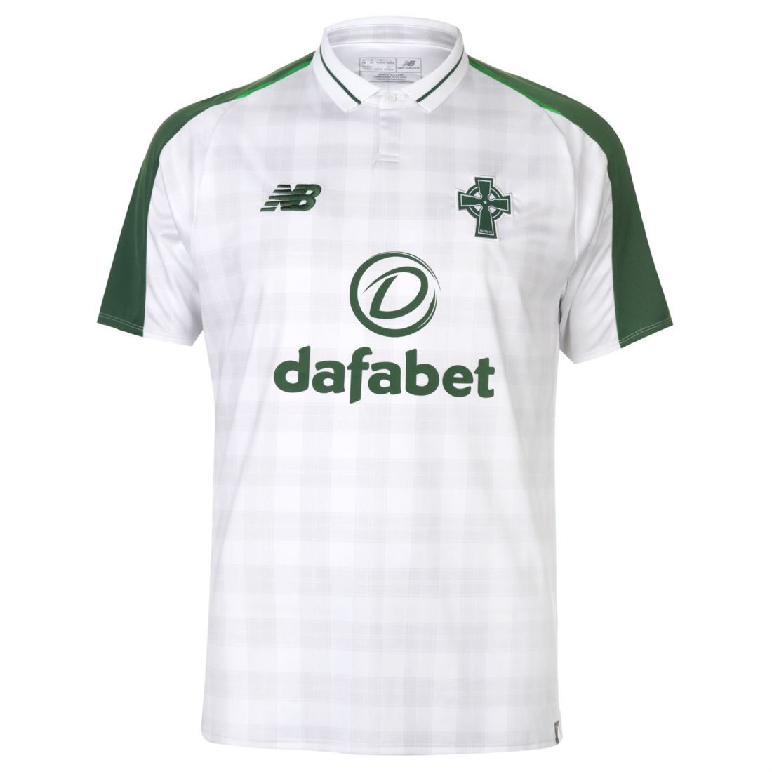 New Balance Mens Celtic Away Shirt 2018 2019 Domestic Short ... cd41d4555c