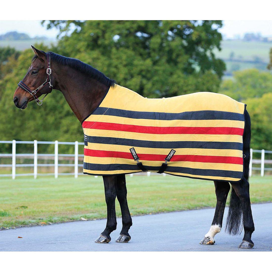 Rambo Unisex Horse Rug  Deluxe Fleece Robinsons New  cost-effective