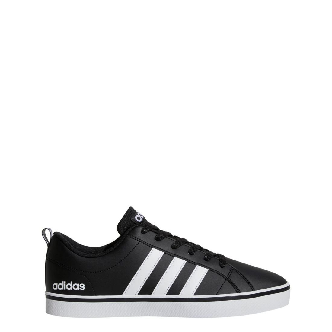 c81383810bff38 adidas Mens Pace VS Trainers Shoes Lace Up Tonal Stitching Stripe