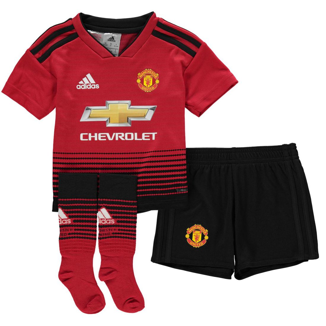 a79b05d1a adidas Manchester United Home Mini Kit 2018 2019 Childrens ...