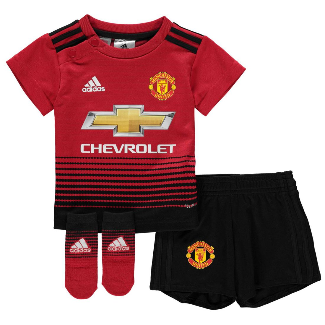 f2a593b56 adidas Kids Boys Manchester United Home Baby Kit 2018 2019 ...