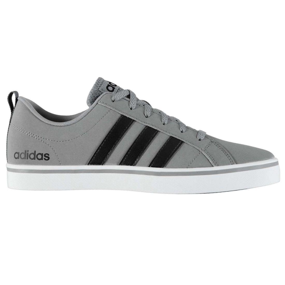 b45d022ea0e22 adidas Mens Pace VS Nubuck Trainers Shoes Lace Up Tonal Stitching ...