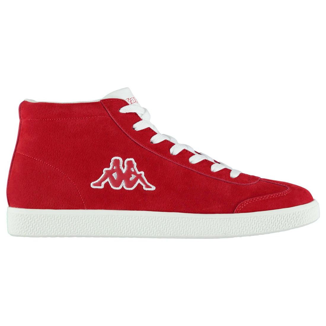 d49fa5a1c3 Details about Kappa Mens Sole Mid Trainers Low Lace Up Comfortable Fit Suede