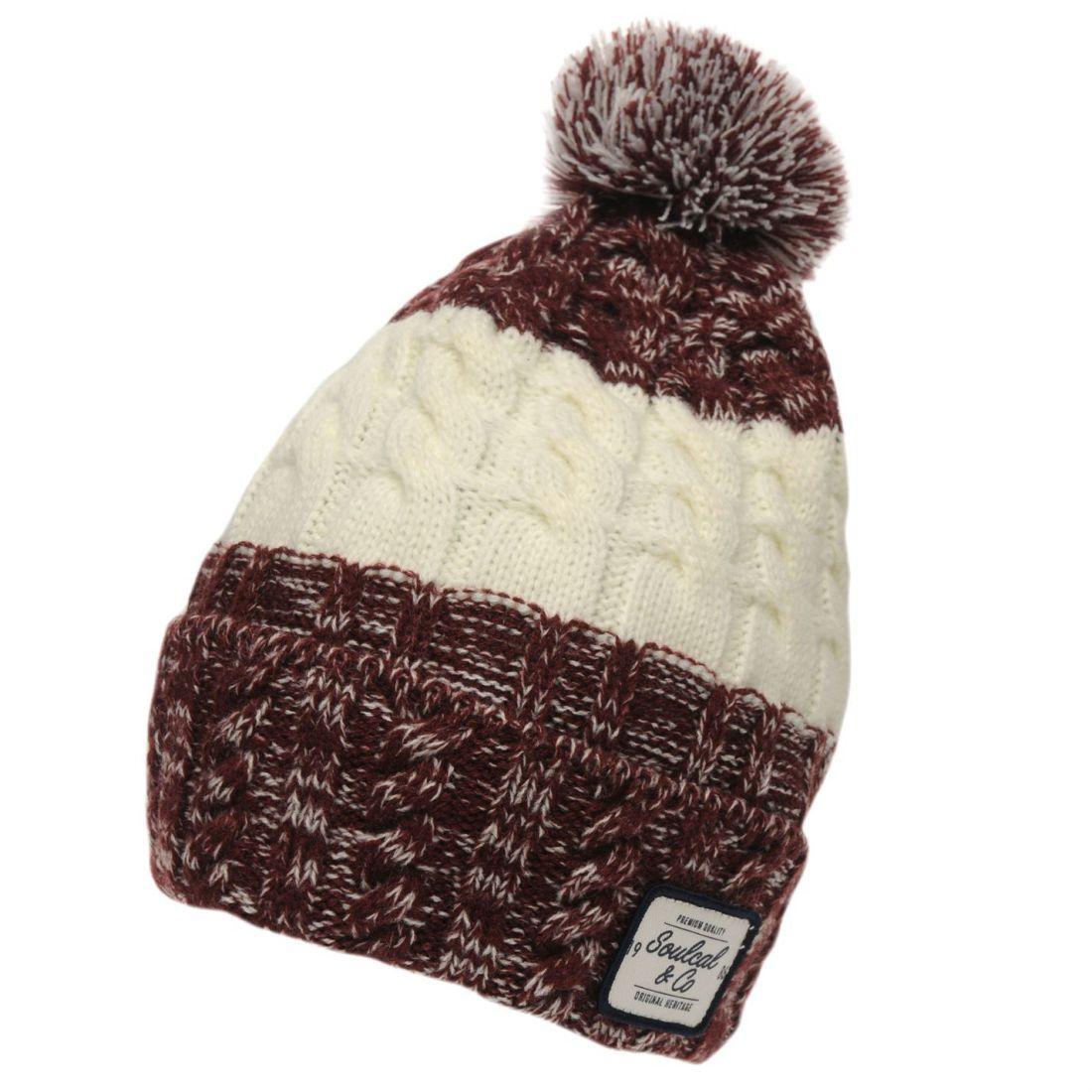7a908f06cf6 WOMENS SOULCAL CAL Bobble Hat New - EUR 4