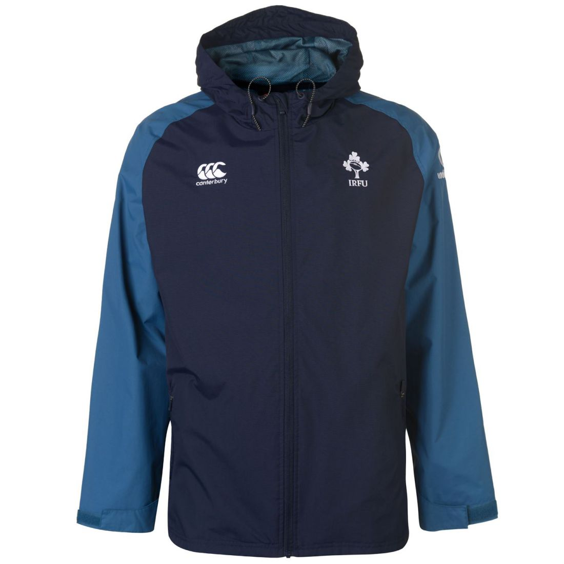 Sport Ireland Jacket Canterbury Cappotto Gents Zipped Navy Uomo Activity Rugby Top TFwnPYqf