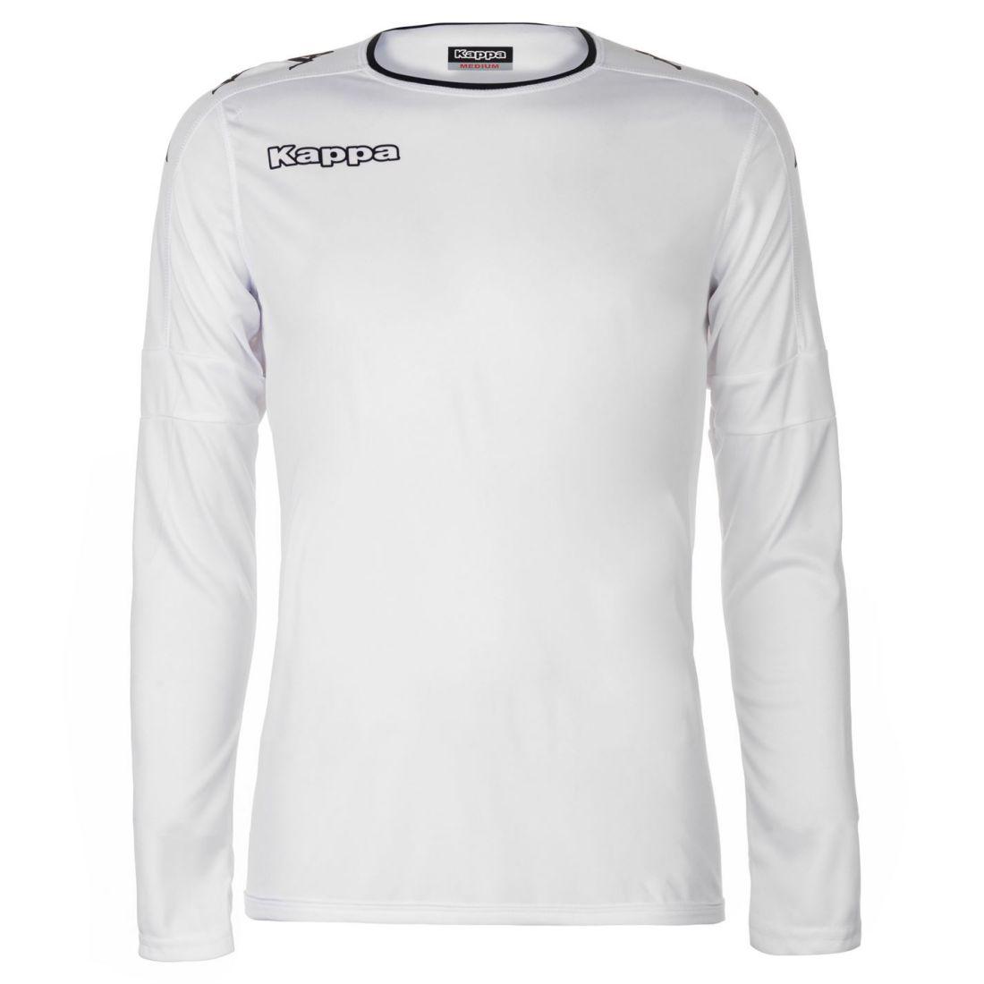 8e19d0b93d Kappa Santos Full Length Sleeve Top Mens Gents Crew Neck Shirt Round ...