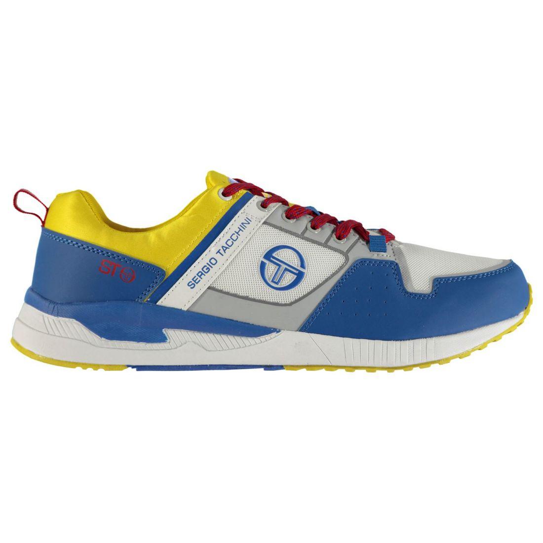e682f0c09d Image is loading Sergio-Tacchini-Zeus-Sneakers-Mens-Gents-Classic