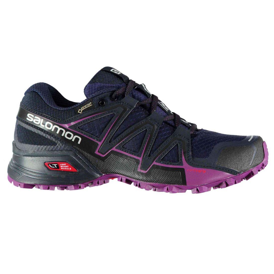 SALOMON SPEEDCROSS V GTX Trail Running Shoes Ladies Ventilated Water Repellent