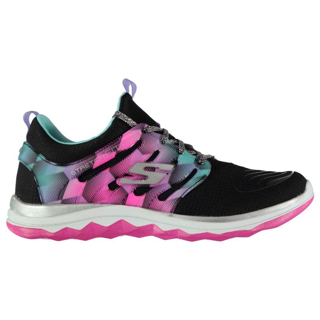8111b0fa849837 Image is loading Skechers-Kids-Girls-Diamond-Run-Junior-Trainers-Runners-