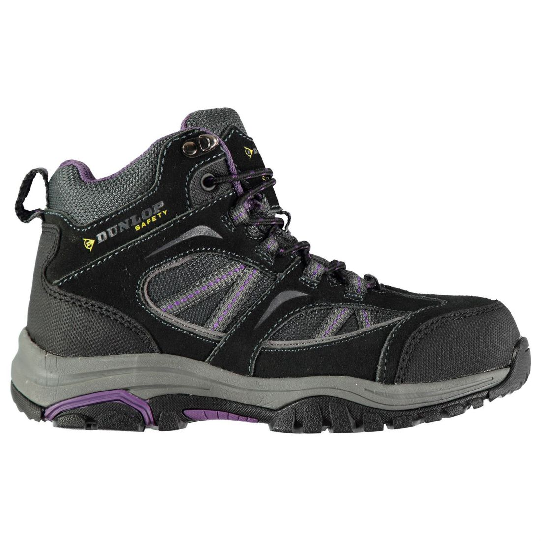 Dunlop Colorado Securety Boots Ladies Laces Fastened Lightweight Shock Absorbing