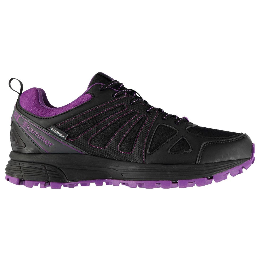 Wp Negro Runners Ladies púrpura Karrimor Automobileacal SZq6w56F
