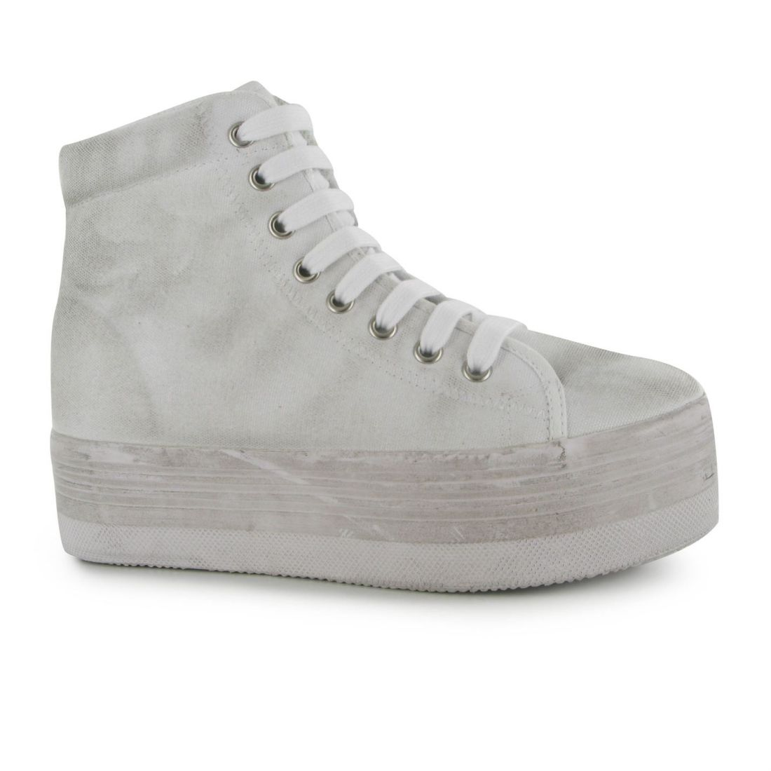 2357d63854ff37 Image is loading Jeffrey-Campbell-Ladies-Womens-Shoes-Play-Canvas-Washed-
