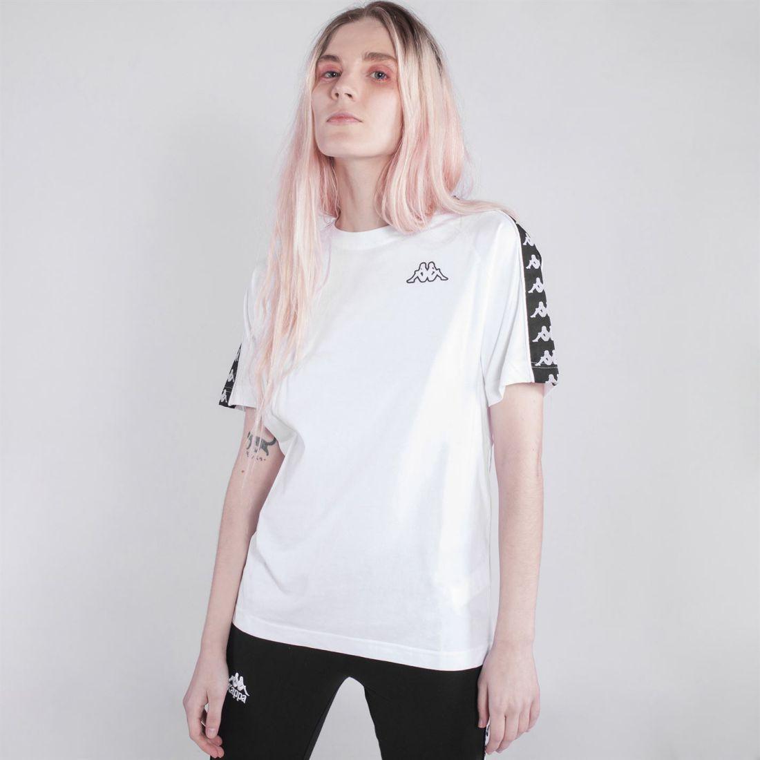 ce40b0d8 Details about Womens Kappa Banda Coen Slim T Shirt Crew Neck Short Sleeve  New