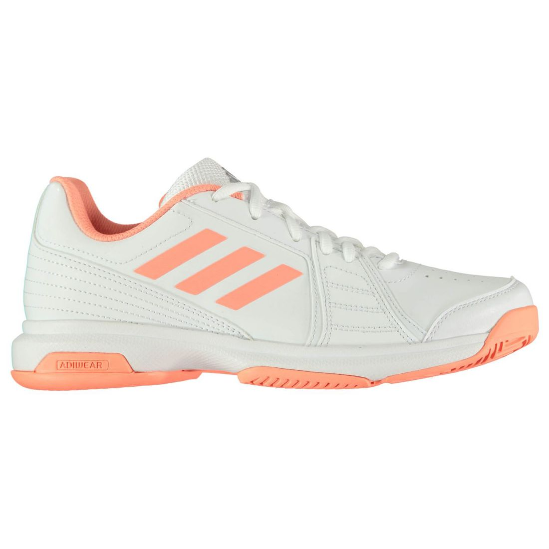 584f5b7f41b3a adidas Womens Aspire Tennis Shoes Lace Up Breathable Ventilation Holes