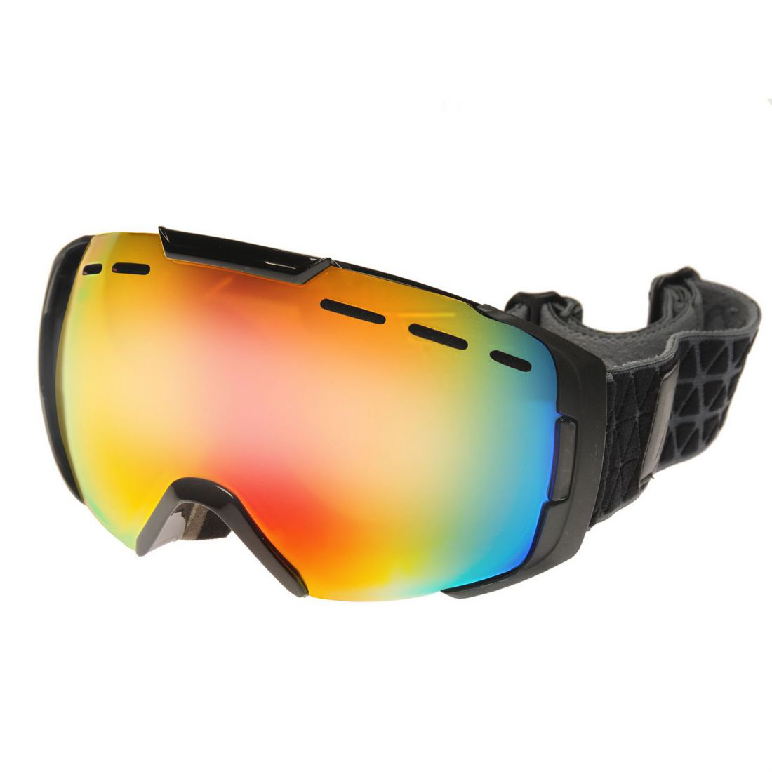 b7a4e3eacd7 Details about Nevica Whistler Skin Goggles Mens Gents Ski Silicone Headstrap  Polarised