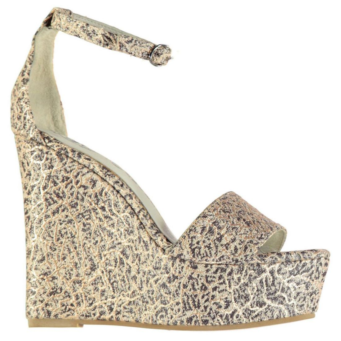 Jeffrey Campbell Anya Wedge Sandals Womens