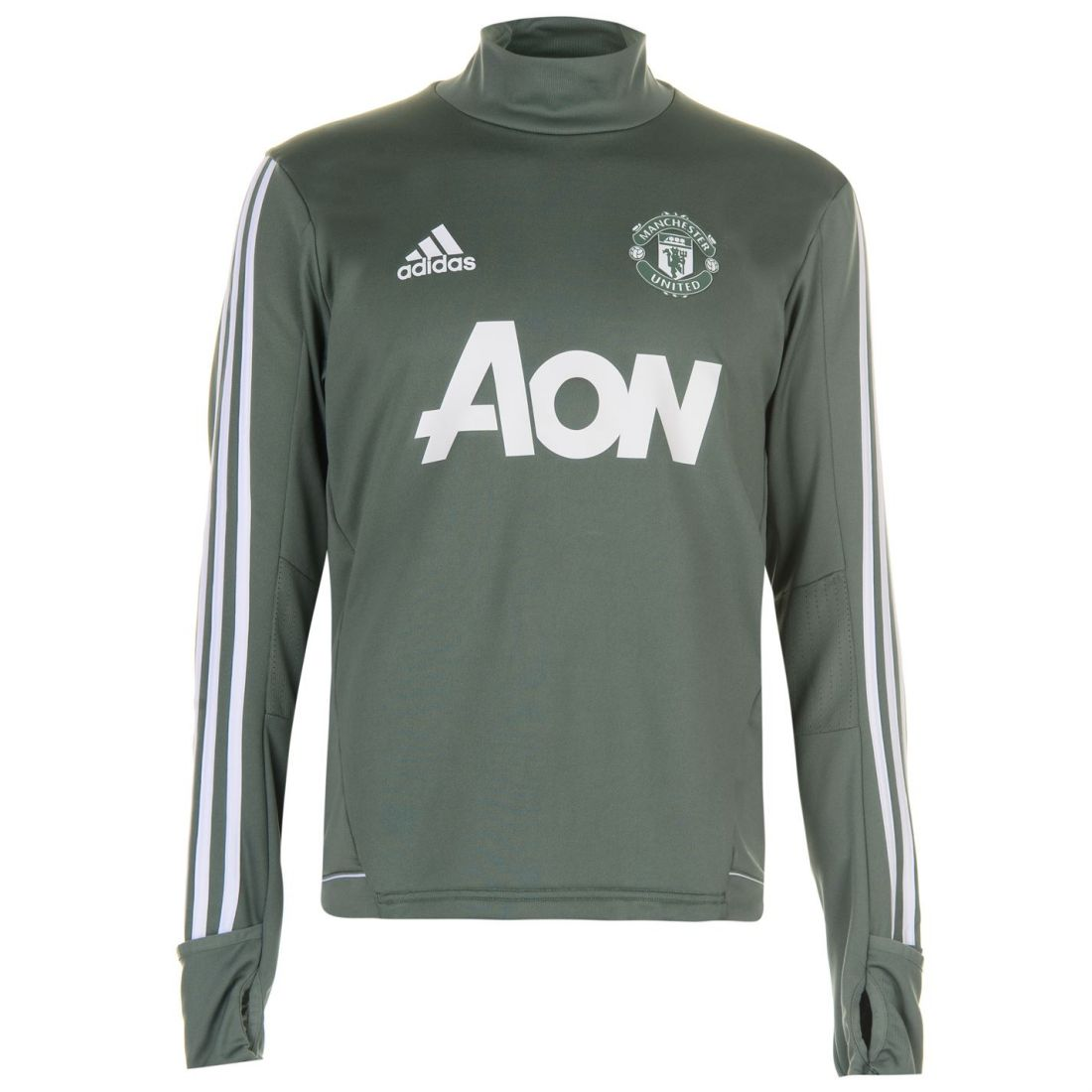 be9c73e9ea3 adidas Mens Manchester United FC Training Top Long Sleeve ...