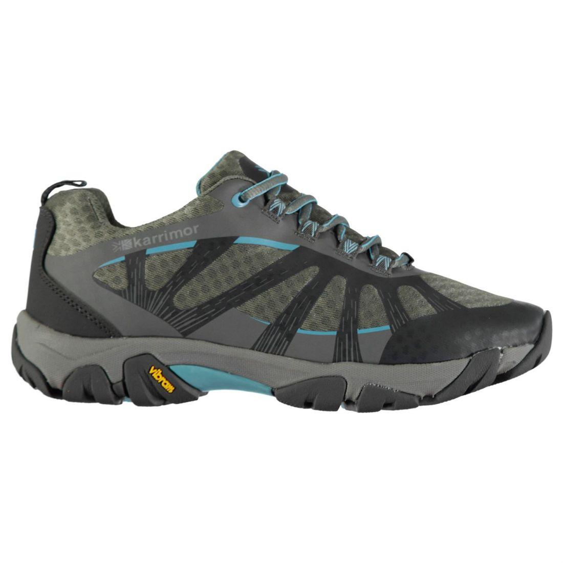 011dee44d5c7 Karrimor Serenity shoes Ladies Non Water Laces Fastened Walking Repellent  natntk15026-Women