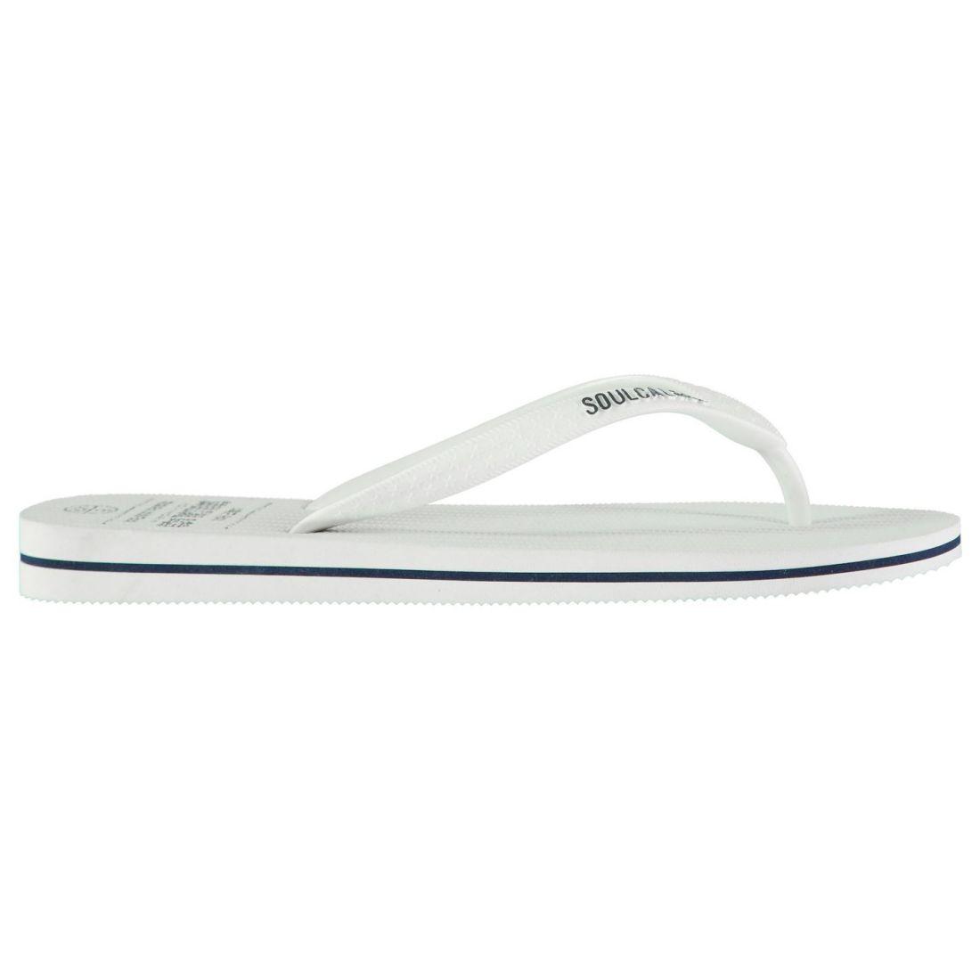 659acacba SoulCal Maui Flip Flops Mens Gents Slip On Lightweight Toe Post