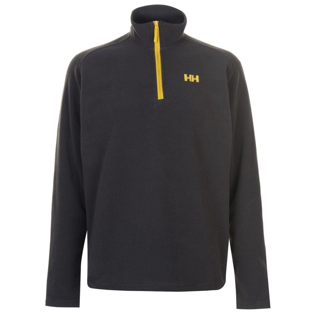 Helly Hansen Mens Day Break Half Zip Fleece Top Quarter Sweatshirt Jumper Long