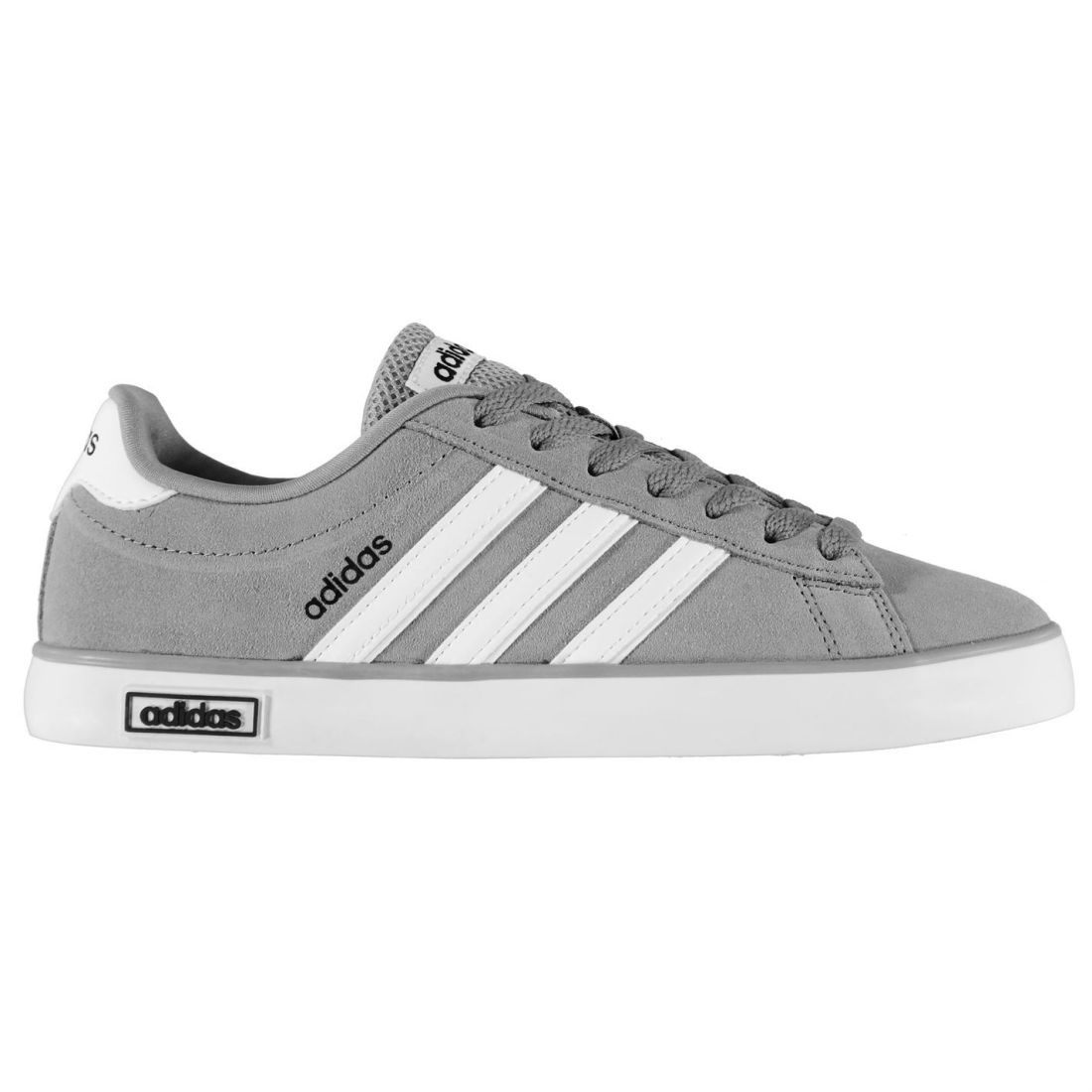 2c7fe4e72 adidas Derby Vulc Suede Trainers Mens Shoes Grey white UK 8 (42). About  this product. Picture 1 of 8  Picture 2 of 8  Picture 3 of 8 ...