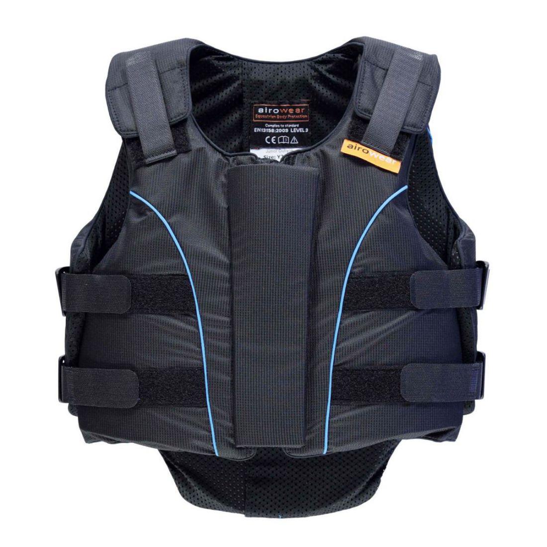 Airowear Kids Outlyne Body Predector Junior Rider Predection Lightweight Zip