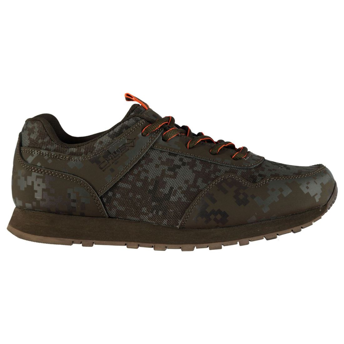Chub Vantage Camo Sneakers Mens Gents Rods Laces Fastened Water Repellent