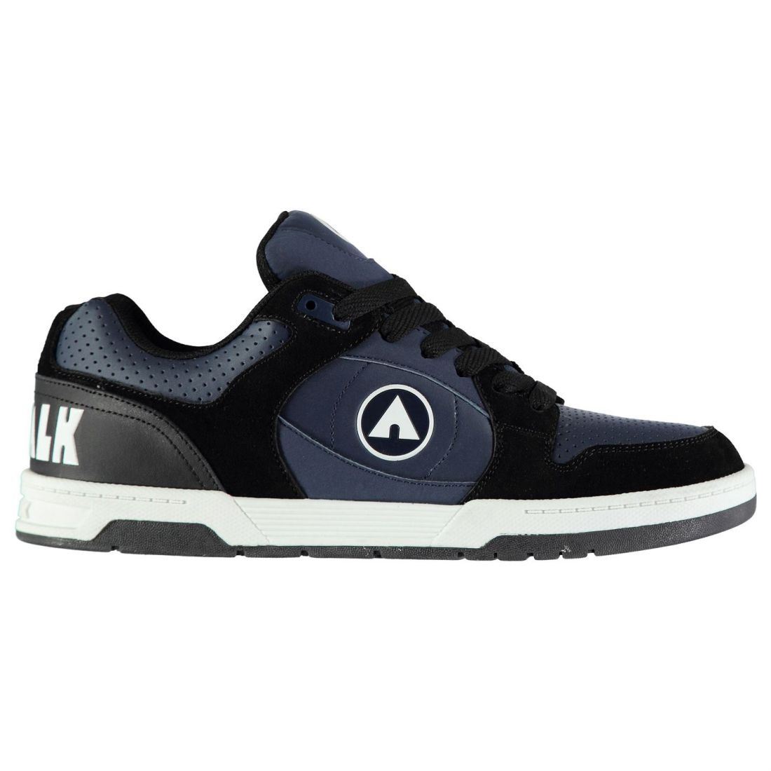 Airwalk Mens Throttle Skate Shoes Low Top Fashion Trainers Lace Up ... a9fee539325b
