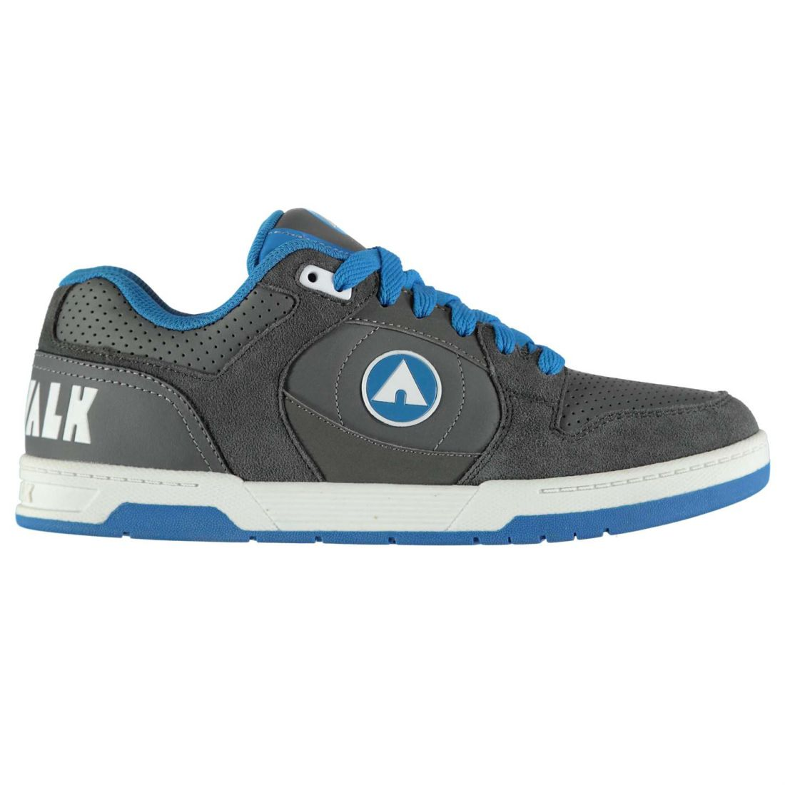Airwalk Mens Throttle Skate Shoes Low Top Fashion Trainers Lace Up ... b56dbd39a7d2