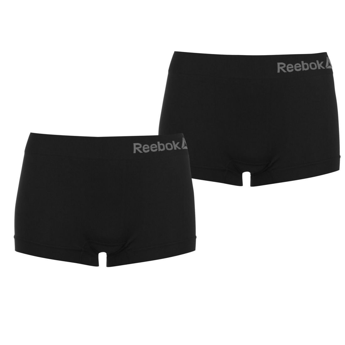 401d0f75a828 Reebok Womens Shorts Pack of 2 Underwear Seamless Stretch ...