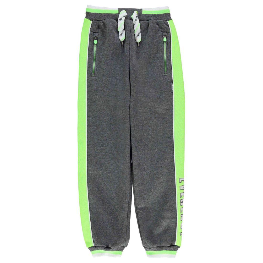 cc8d1b680975 Everlast Kids Boys Closed Hem Jogging Bottoms Junior Fleece Trousers ...