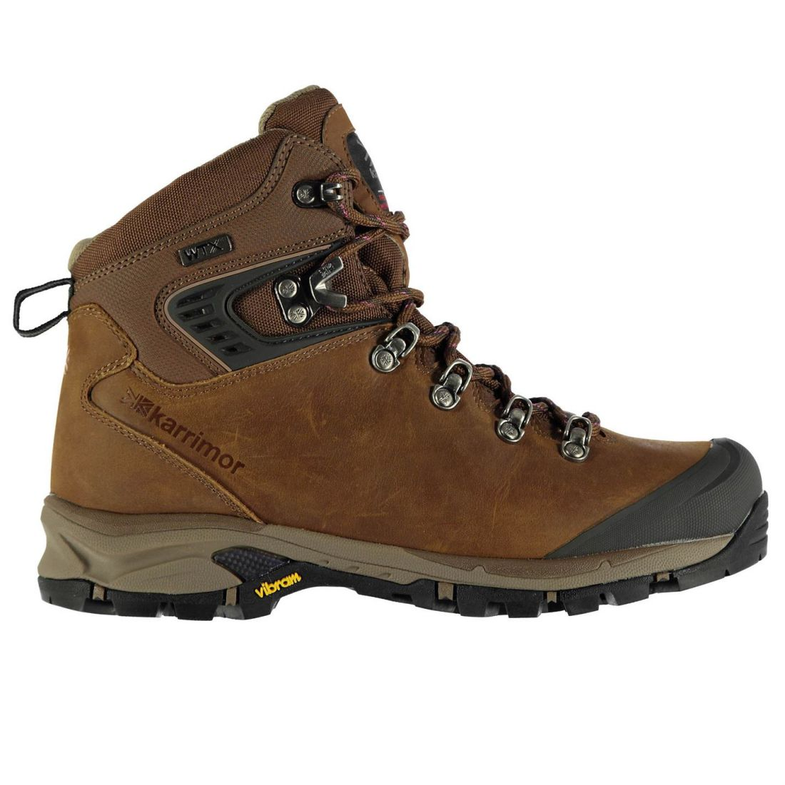 1f7ee13b2dcd6 Image is loading Karrimor-Womens-Cheetah-Vibram-Walking-Boots-Lace-Up-