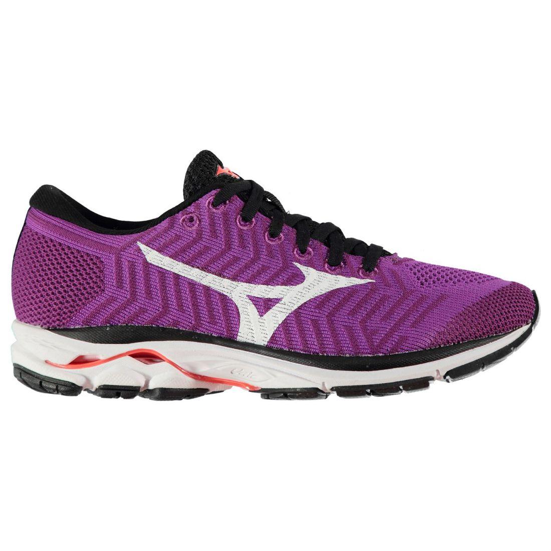 Mizuno femmes Wave Knit r1 Running chaussures Road