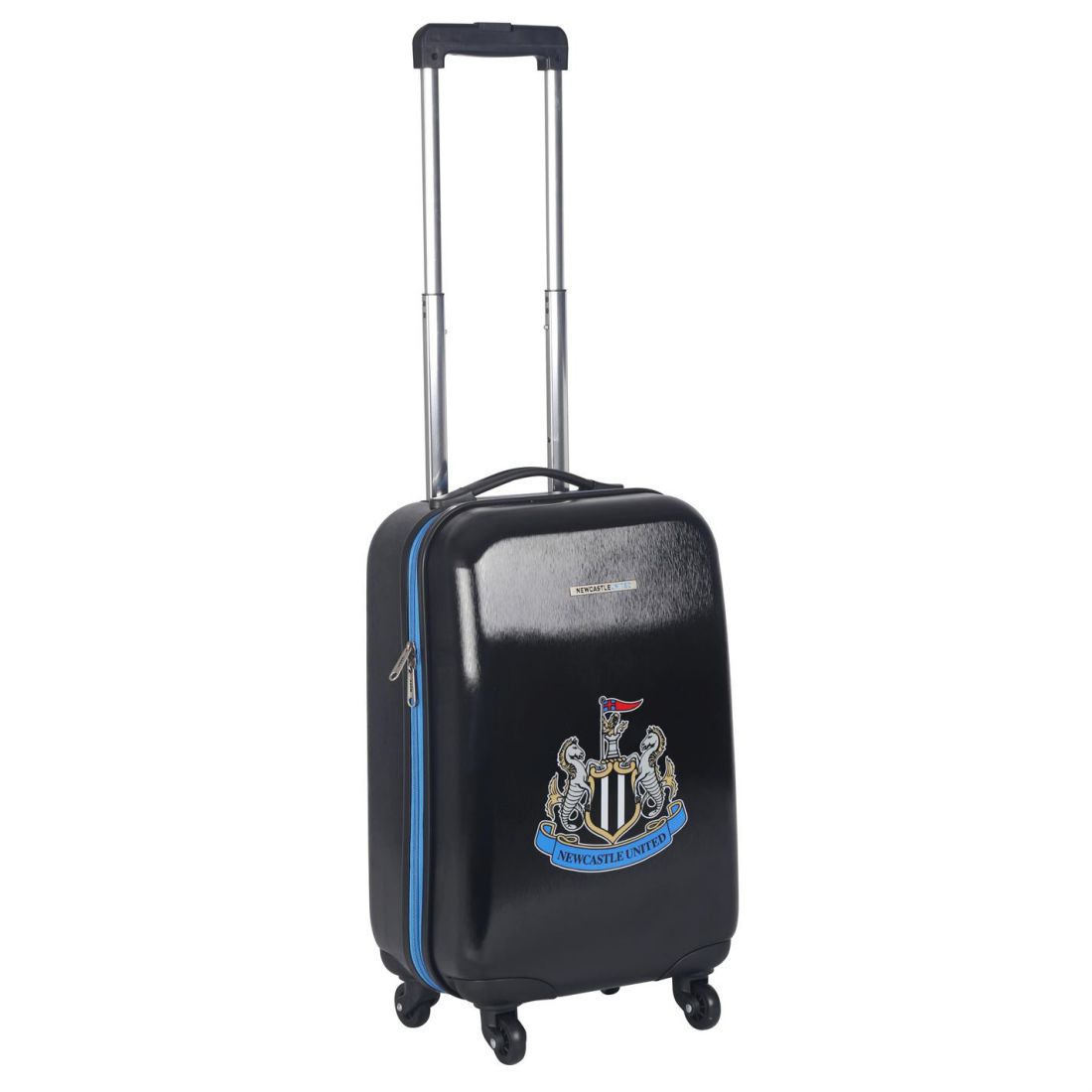 a03d1b220e Details about NUFC Hard Suitcase Football Case Wheeled Travel Trolley Luggage  Bag Accessories