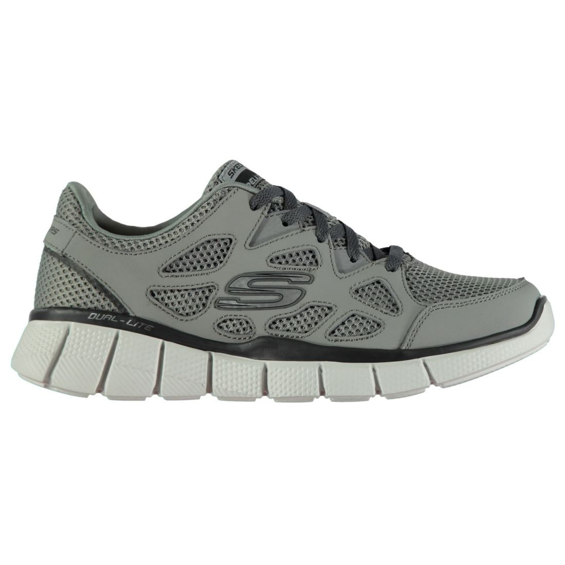 Skechers EQ 2 Turnschuhe Mens Gents Runners Laces Fastened Ventilated Lightweight