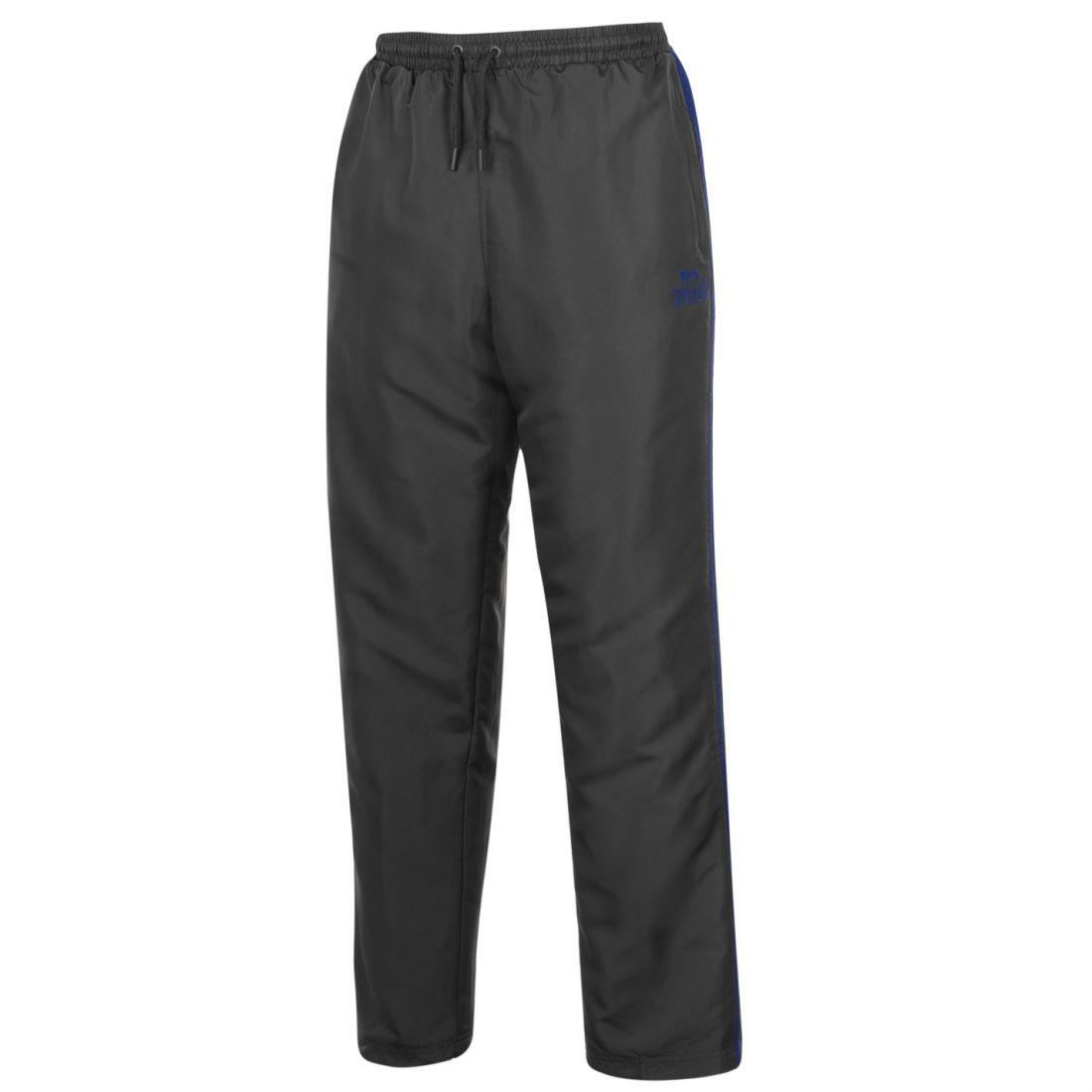 Pants Clothing, Shoes & Accessories Active Lonsdale Mens 2 Stripe Open Hem Woven Pants Tracksuit Bottoms Lightweight Zip