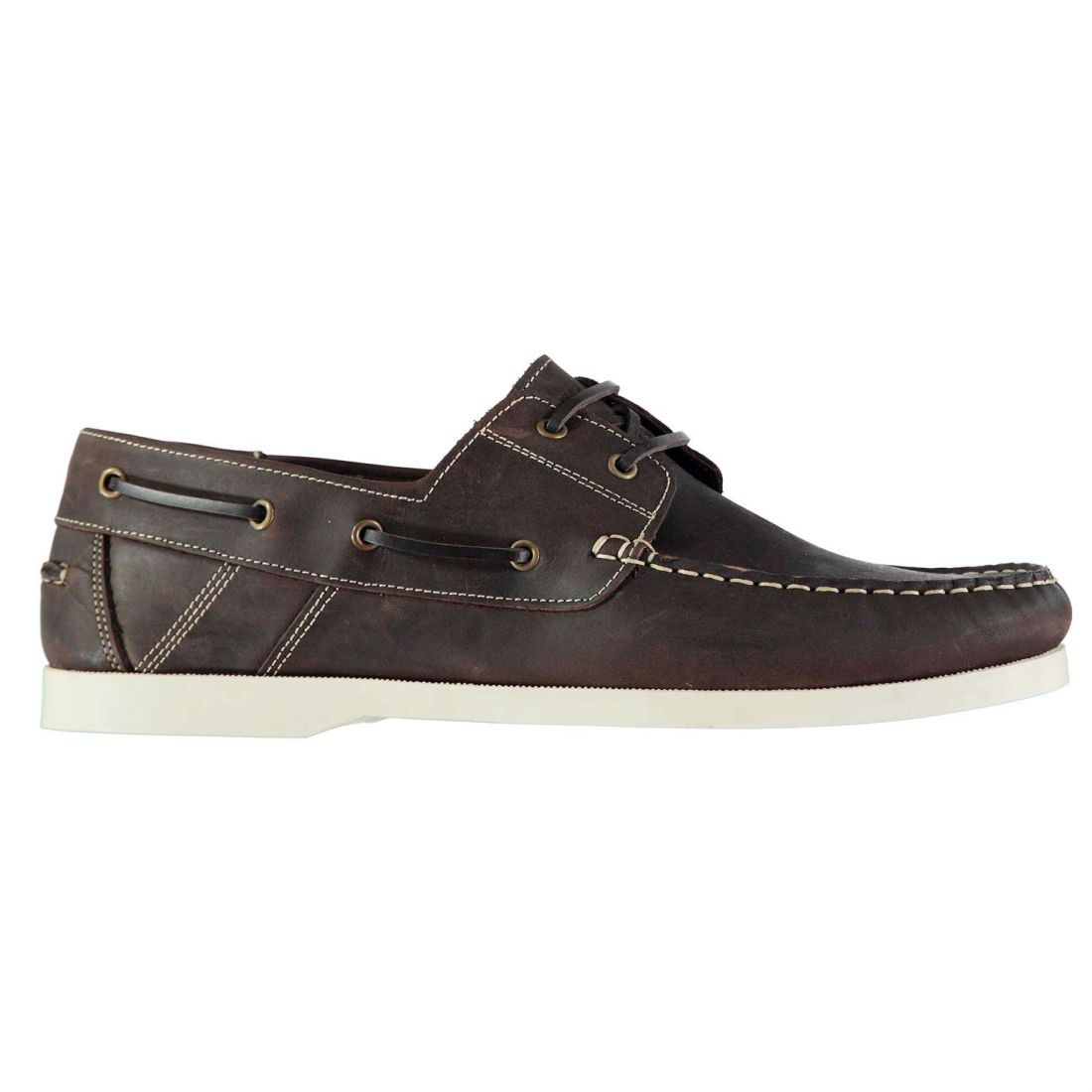 Firetrap Mens Gents Caravel shoes Laces Fastened Footwear